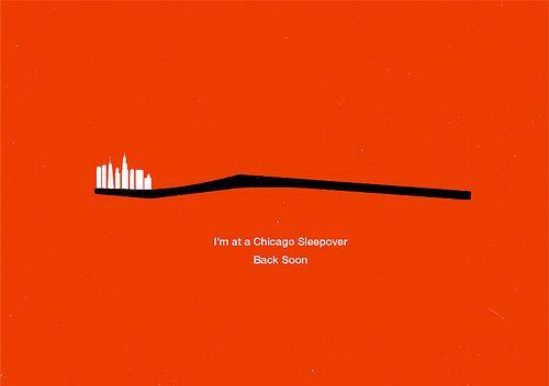 Chicago Sleepover, via Flickr. Olly Moss