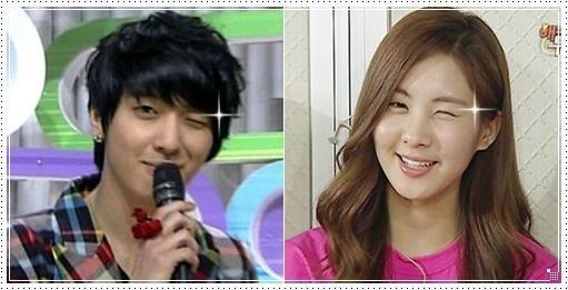 yongseo blink!!#seohyun,#yonghwa,#kpop