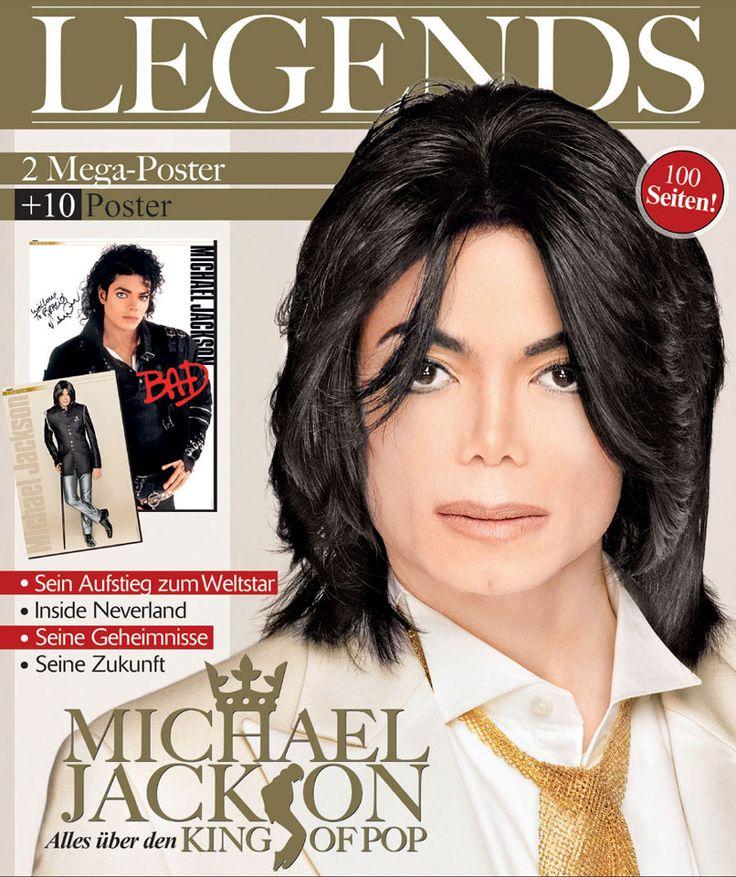 Magazine cover of Michael Jackson