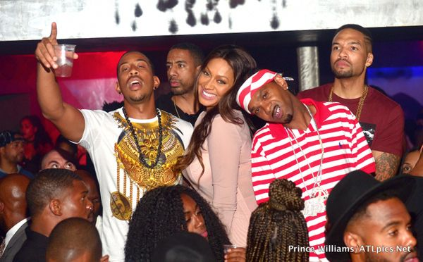 Angela Simmons, Monyetta Shaw, Terrence J., LaLa Anthony LINK UP In Atlanta At Prive- http://getmybuzzup.com/wp-content/uploads/2015/09/509346-thumb.jpg- http://getmybuzzup.com/angela-simmons-monyetta/- By Natasha Old friends LaLa Anthony and Ludacris linked up with their other celeb friends at LudaDay weekend in Atlanta. We've got the pics from their fun night of partying inside…  Last night at Privé, LaLa and her homie of 20 years Ludacris, celebrated LudaDay w
