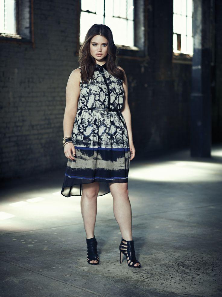 Addition Elle plus size python print dress.