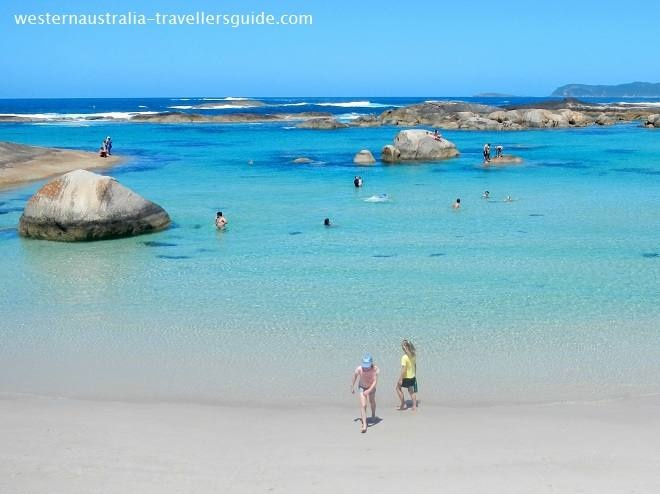 A heavenly beach - Greens Pool in the William Bay National Park on the south coast of Western Australia