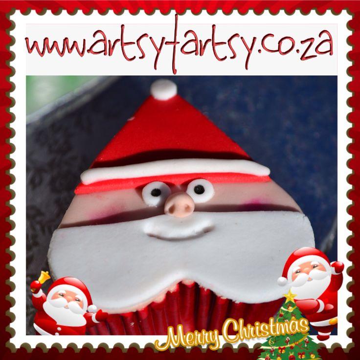Father Christmas Cupcakes #fatherchristmascupcake