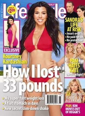 Kourtney Kardashian Shares Her Weight Loss Tips