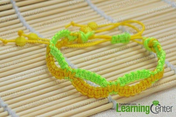 Ef Zin Creations: DIY Infinity Friendship Bracelet