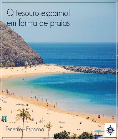 Você sabia que #Tenerife é um bom local também para fazer compras? Aproveite essa oportunidade e embarque conosco! #MSC #Espanha