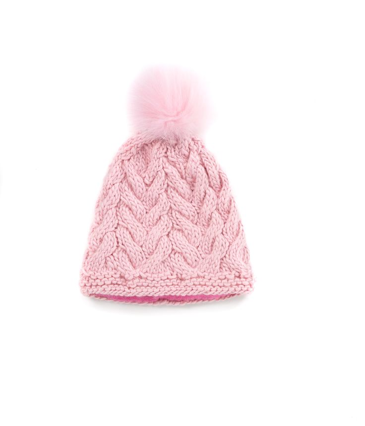 KNIT BEANIE CAP FOR WOMEN in Powder Pink - CABLE KNIT HAT The GŌBLE Women Knit Beanie Cap is a luxurious soft blend of merino wool, alpaca and silk. HAND KNIT IN CANADA   GOBLE.CA