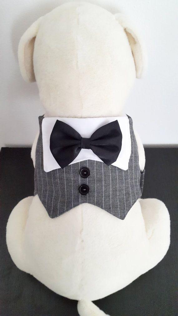 Perro smoking traje de boda de perro perro ropa Formal por PinkBau