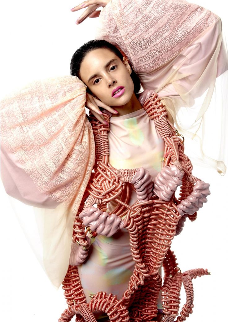 Lucy Upsher SS '13 collection Nature's acrobats
