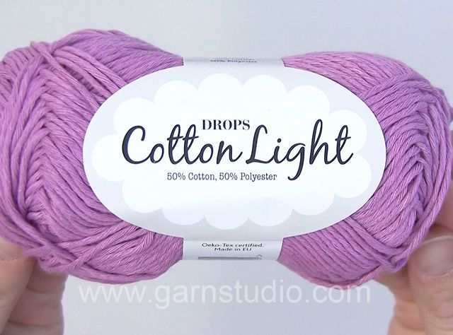DROPS Cotton Light Video Presentation by #Garnstudio #DropsDesign. See the shademap for more information on: http://www.garnstudio.com/lang/us/yarn.php?id=94