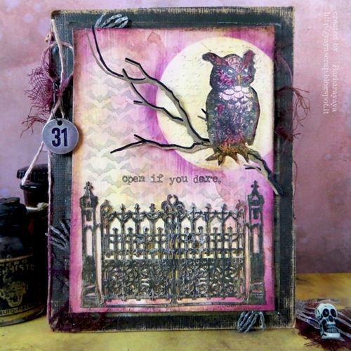 yaya scrap & more: SIMON MONDAY CHALLENGE: HALLOWEEN!!!