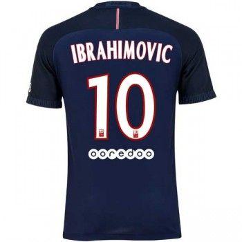 PSG 16-17 Zlatan Ibrahimovic 10 Hemmatröja Kortärmad #Billiga #fotbollströjor