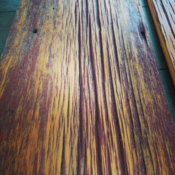 #Salvaged #barnboard with a hint of red achieved by lightly planing boards salvaged from an old red barn. #stunning #rustic