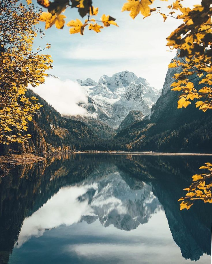 @lennartpagel capturing autumn colors in Austria.
