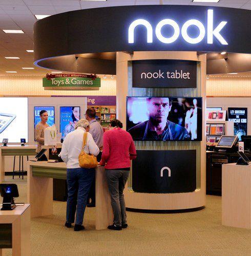 Bildergebnis für b&N digital book shop design