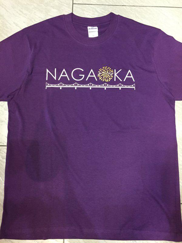 NAGAOKA Tシャツ 紫 和雑貨の店わがんせ