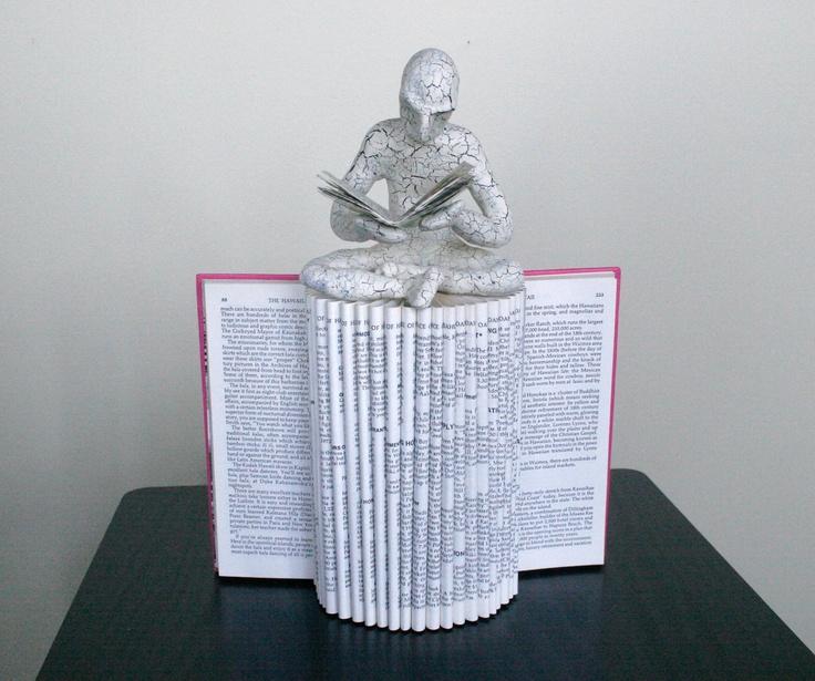 The Reader (Original Sculpture) by Daniel Lai