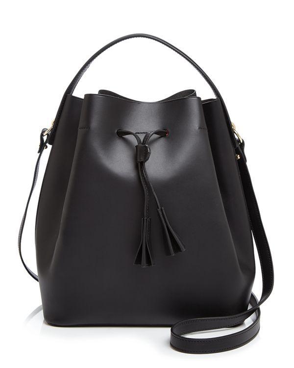 Celine Lefebure makes a laid-back bucket bag look super-elegant with sleek…