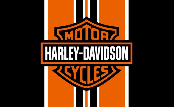 Harley Davidson Prices >> Harley Davidson Orange & Black Banner / Flag / Sign 3x5 Hanging motorcycle club   Thing is Flag ...