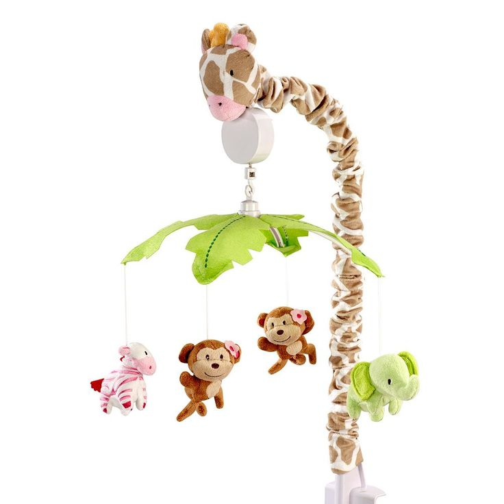 Carter's Jungle Musical Mobile, Green