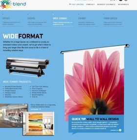 Looking for Large format printers in San Diego?  Come to Blend, we make your banner, photo, sig...