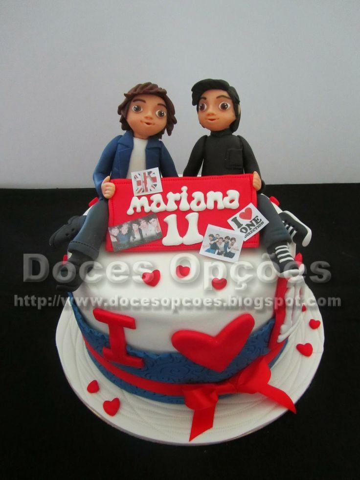 Doces Opções: One Direction para o aniversário da Mariana