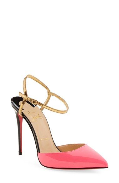Christian Louboutin \u0027Rivierina\u0027 Ankle Strap Pump available at #Nordstrom
