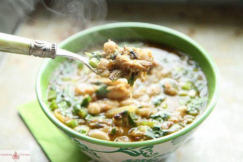 Chili Verde, from http://www.heatherchristo.com/cooks/2012/06/21/pork-chili-verde/