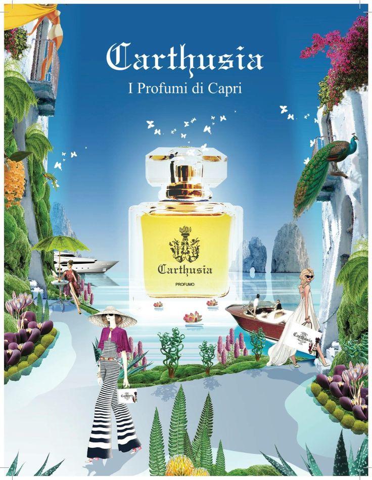 #carthusia #capri #nicheperfumes exclusively at #rosinaperfumery #athens