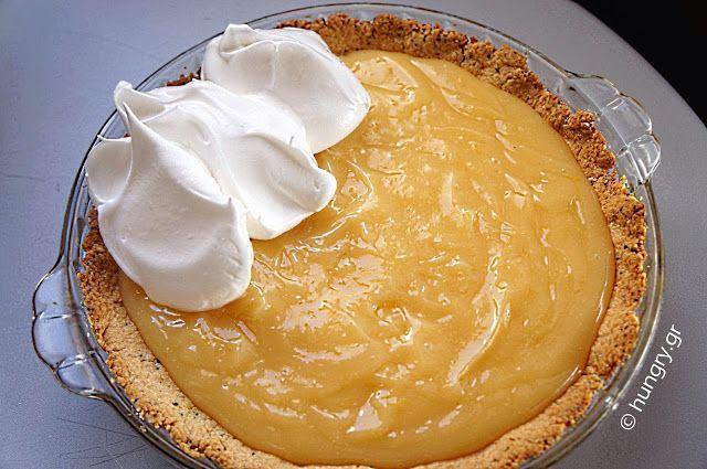 Lemon Meringue Pie, Lemon Pie με Μαρέγκα, Συνταγές για Lemon Pie με Μαρέγκα, Λέμον Πάι με Ψημένη Μαρέγκα, Λέμον Πάι, Λεμονόπιτα με Μαρέγκα