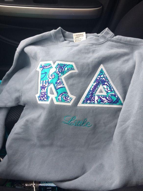Kappa Delta Big Little sweatshirt gift need when i'm officially a little <3 <3