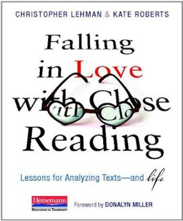 All this talk about close reading…I guess this will be on my summer reading list.