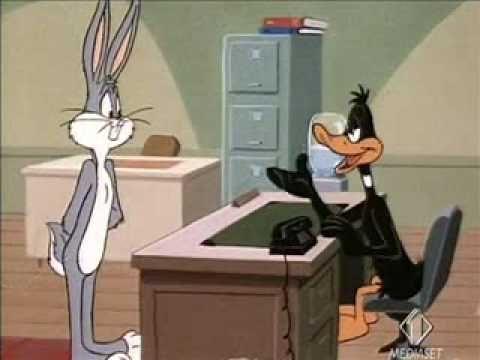 Daffy Duck acchiappafantasmi - Quackbusters - Reclutamento Bugs Bunny