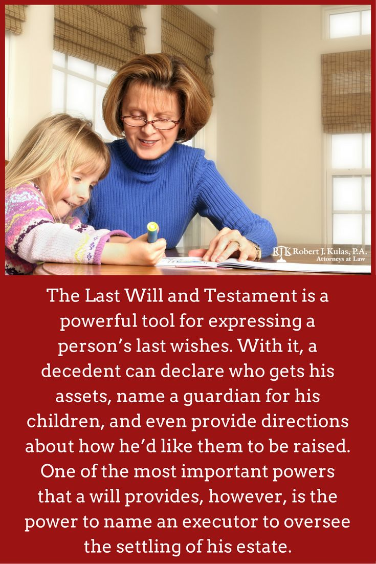 how to write your own will and testament