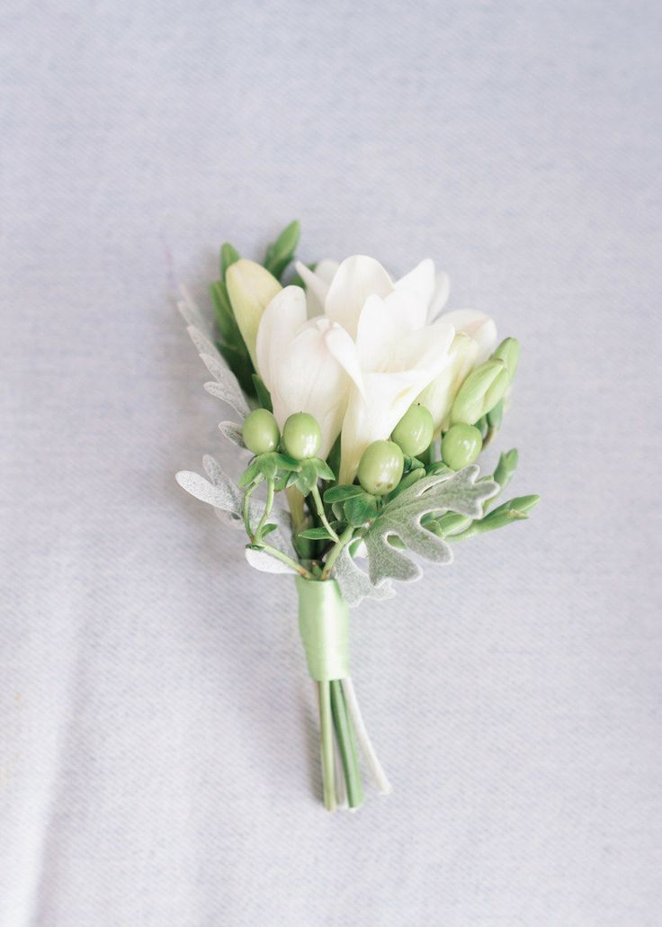 freesia buttonholes – Google Search