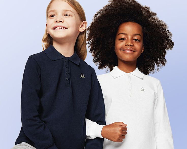 New #Benetton #FW17 #kids collection has arrived! Discover our #polo based #outfit.