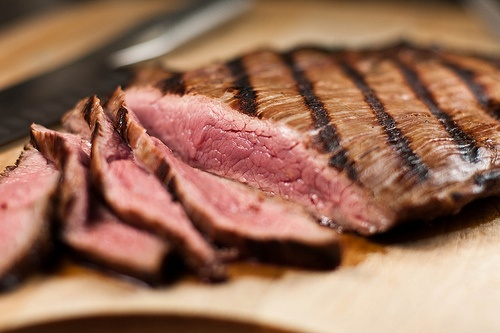 porter marinated flank steak... going to try this with that homebrew ...