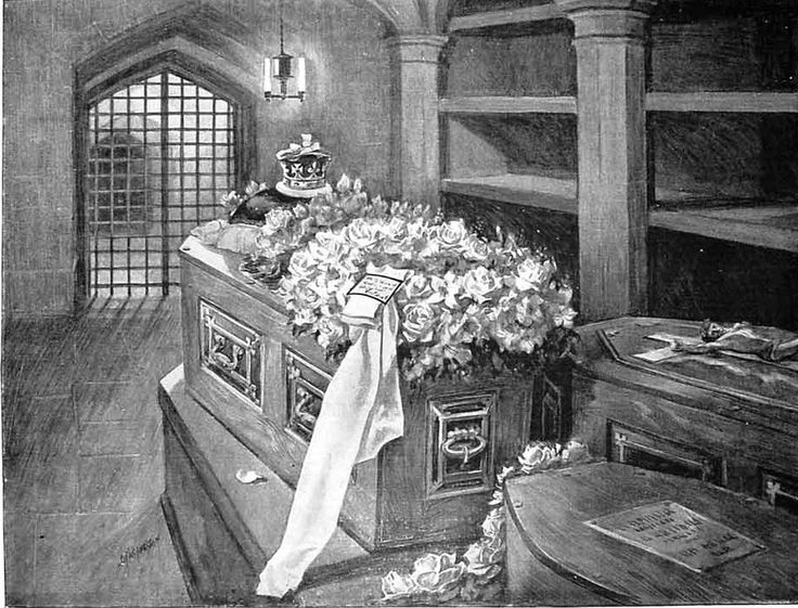 Funeral of princess mary adelaide duchess of teck mother