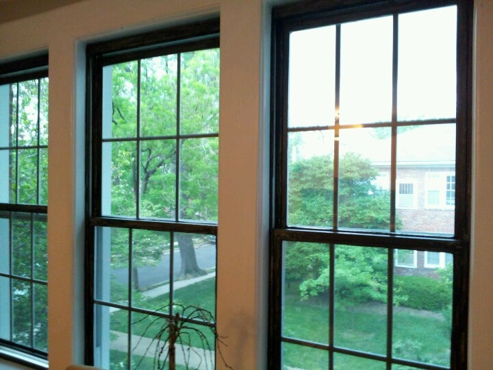 Black Interior Window Frames
