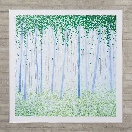 Misty Woods Canvas Print - A Modern Display on Joss & Main