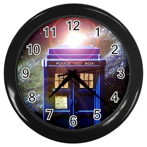 "Doctor Who TARDIS 10"" Wall Clock Home Decor via Greatest Gift"