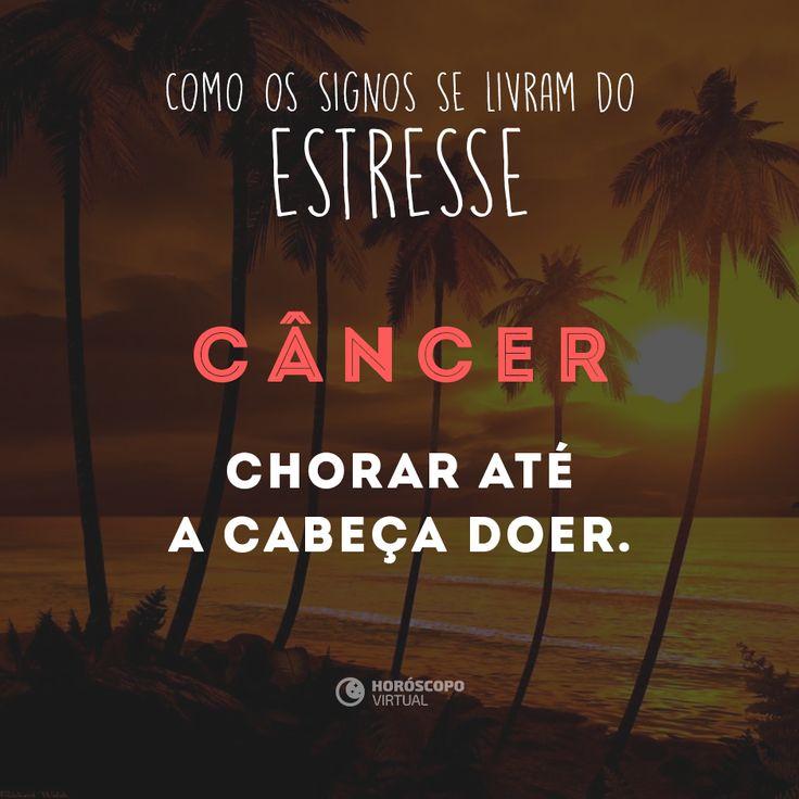 """Tá """"relax"""", canceriano?"""