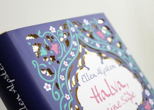 Lasercut Cover for 'Halva, meine Süße'
