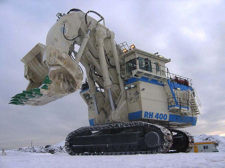 o&k rh400 shovel | RH400 tem a capacidade de trabalho para recolher cerca de 9900 ...