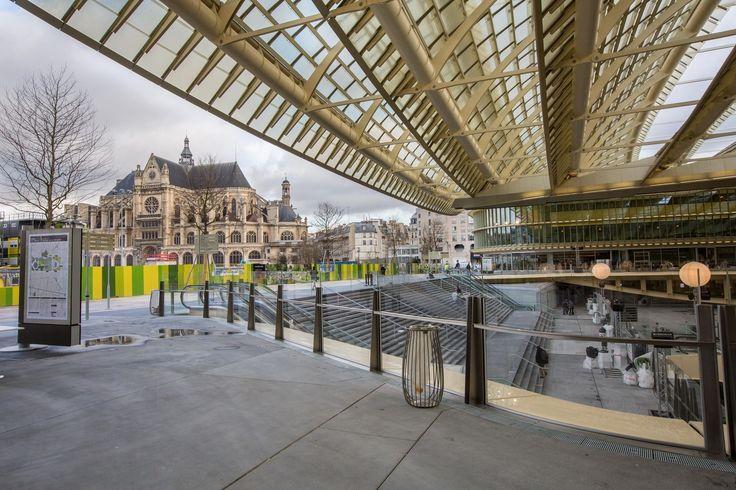 Diaporama paris inaugure la canopée des halles