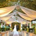 decoracion salon de bodas con telas – decoraciones para bodas