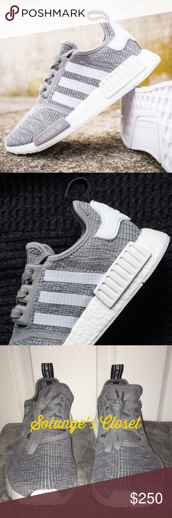ADIDAS NMD R1 SNEAKERS -Size 6 Men- Will fit Women 6-7!   -100% AUTHENTIC & COMES WITH BOX & RECEIPT FROM ADIDAS.COM!  -NO FLAWS! -Price is firm on this item due to rarity of colorway and size.  WILL LIST ON VINTED OR FASHION STASH LOWER💕  🚫NO TRADES/HOLDS🚫 Adidas Shoes Sneakers
