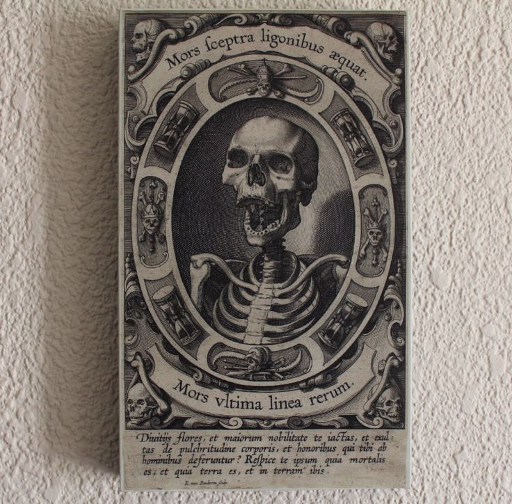 A personal favorite from my Etsy shop https://www.etsy.com/listing/246659330/mors-sceptra-ligonibus-aequat-philips