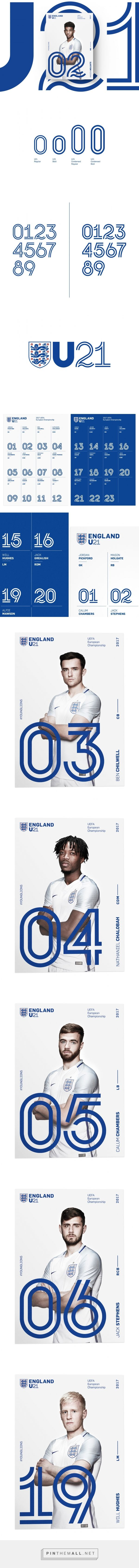 England U21 on Behance... - a grouped images picture - Pin Them All
