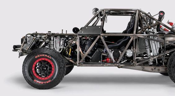 Honda Ridgeline Trophy Truck with Honda Indy Car motor